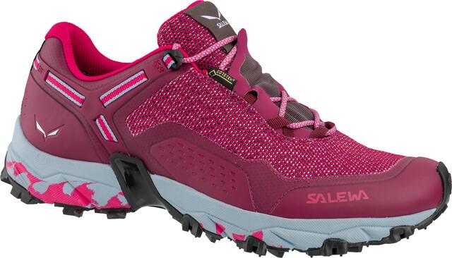 Salewa Klettergurt Größentabelle : Salewa speed beat gtx shoes women red plum rose campz